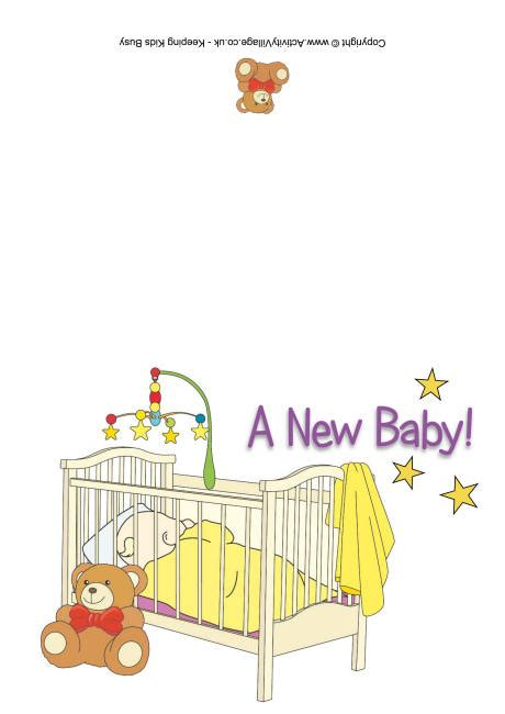Printable New Baby Cards