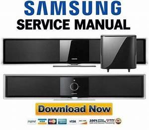 Samsung Ht-bd8200 Bd8200t Service Manual  U0026 Repair Guide
