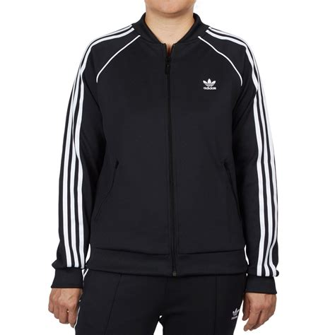 Track Jacket by Adidas Sst Womens Track Jacket Black