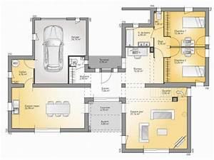 Plan Maison 3d 80m2 En 2020