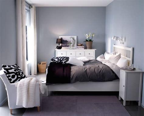Bett Dekorieren Ikea by Hemnes Bed And Grey Walls Hemnes Bedroom Ikea Home
