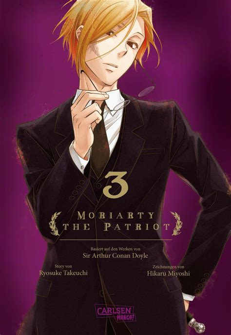 moriarty  patriot band  manga animeyou