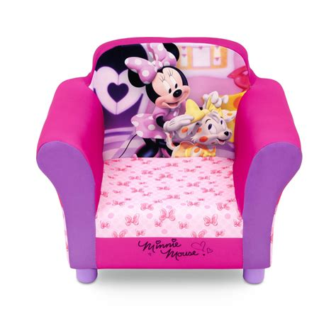Sofa Chair For Toddler by Disney Toddler S Upholstered Chair Minnie Mouse