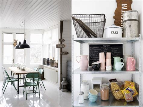 Modern Vintage Home Decor Ideas: {live Here, Eat That} Vintage And Modern