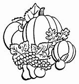 Coloring Pumpkin Pages Fall Printable Autumn Print Templates sketch template