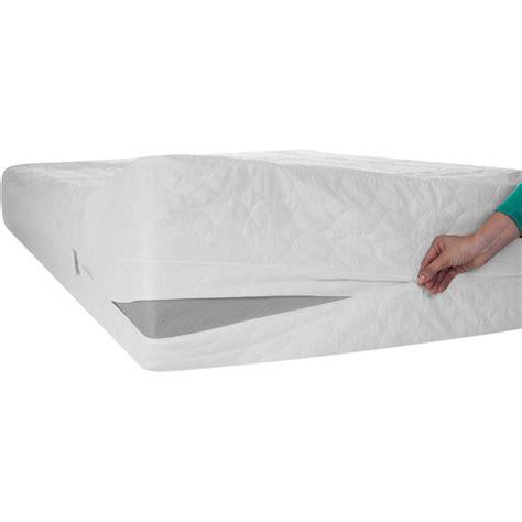 bed protector walmart zen master bed bug dust mite cotton mattress protector
