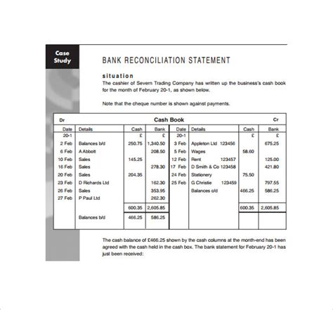 sample bank statements sample templates