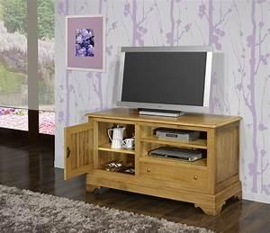 Meuble Tv En Chene : meuble tv 16 9 me en ch ne massif de style louis philippe finition ch ne dor vieilli meuble ~ Teatrodelosmanantiales.com Idées de Décoration