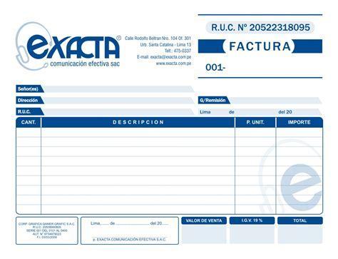 Formatos De Factura   HAIRSTYLE GALLERY