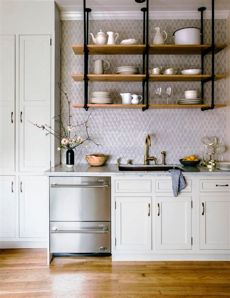 Kitchen Open Shelves Images by Why Open Kitchen Shelves Instead Of Cabinets Nonagon Style