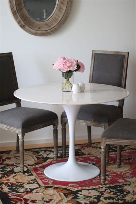 rove concepts tulip table marble tulip table the fox she