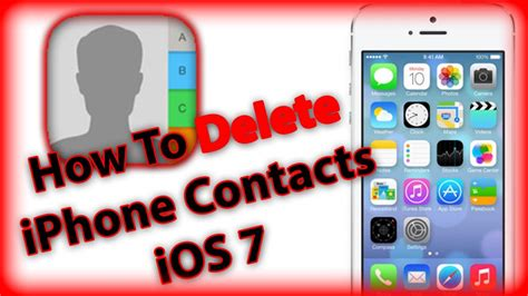 how to delete all pictures from iphone how to delete contacts iphone 5s 5c 5 4s and 4 with How T