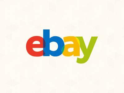 Ebay logo by Tony Gines on Dribbble