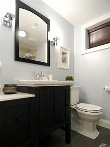 Small, Bathroom, With, A, Clean, Look