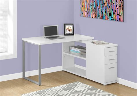 white corner desk with storage white l shaped corner computer desk with storage