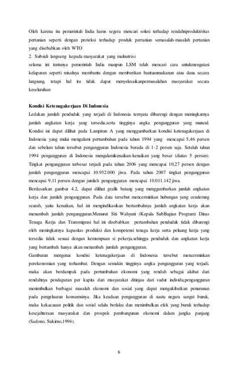 Jurnal kependudukan di indonesia
