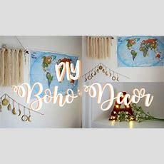 Diy Pinterest Room Decor  Wanderlust & Boho Inspired