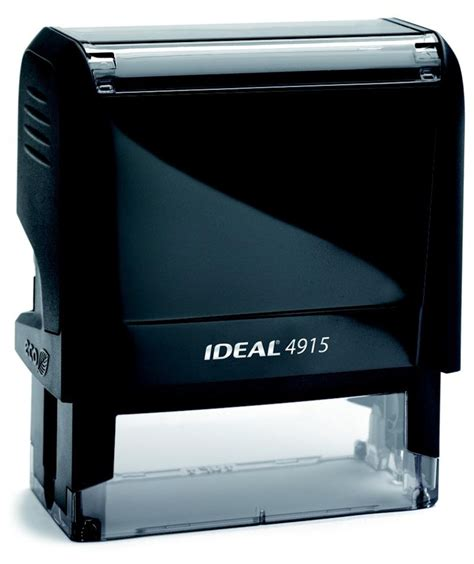 Ideal New 4915 Self Inking Stamp W Logo Or Signature