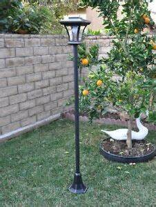 Bright Motion Sensor Outdoor Light New 67 Quot Solar Powered Lamp Post Light With Bright Led Bulb