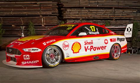 shell  power  mustang supercar revealed autobabes