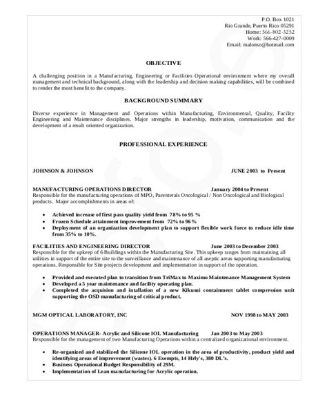 Production Supervisor Resume by Supervisor Resume Template 11 Free Word Pdf Document