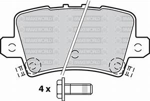 Oem Spec Front And Rear Pads For Honda Civic 2 0 Type