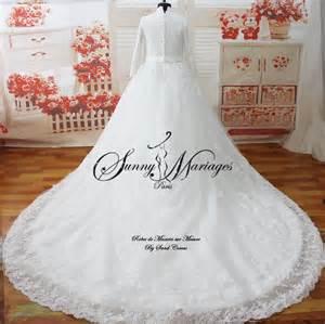 robe longue invitã mariage robe de mariee manches longues mariage