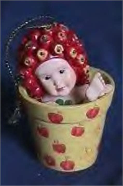 cuddly collectibles collectible geddes flower pot baby ornaments