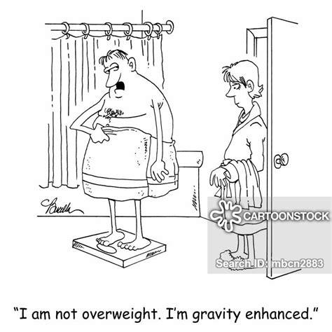 bathroom scales cartoons  comics funny pictures