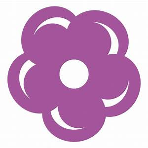 Purple flower icon - Transparent PNG/SVG