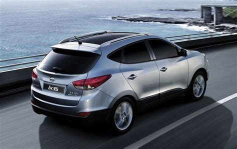 hyundai suv ix35 hyundai ix35 suv expanded and updated range released photos caradvice
