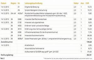 Rechnung Tragen : knochenregeneration richtig berechnet zwp online das nachrichtenportal f r die dentalbranche ~ Themetempest.com Abrechnung