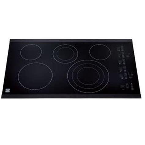 kenmore electric cooktop kenmore elite 44379 36 quot electric cooktop