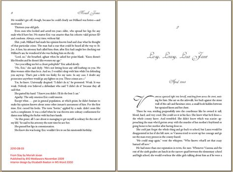 Word 2013 Book Template by 12 Best Photos Of Book Layout Template For Word Free