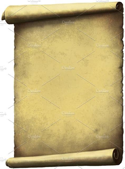 scroll paper graphics creative market