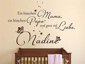 Wandtattoo Für Babyzimmer : wandtattoo ganz viel liebe von ~ Markanthonyermac.com Haus und Dekorationen