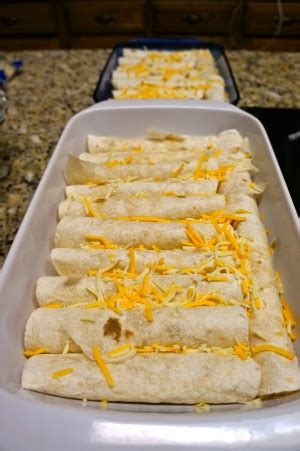 Easy Chicken and Cheese Enchiladas Recipe
