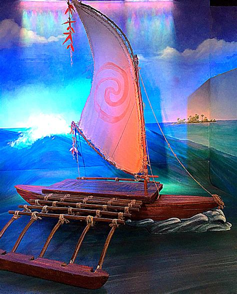 Moana Boat Prop by Disney Refines Its Cultural Competence In Moana But