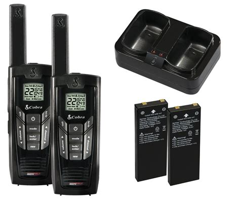 amazoncom cobra cxr walkie talkies  mile