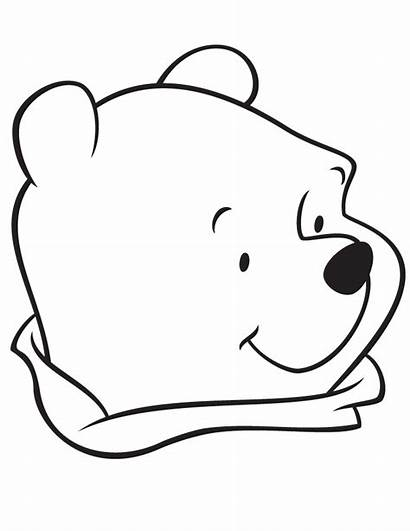 Coloring Easy Pages Bear Pooh