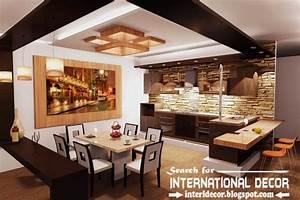 Largest album of modern kitchen ceiling designs ideas tiles for Modern false ceiling design for kitchen