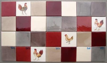 decoration poule pour cuisine faïence et carrelage mural de cuisine carreaux