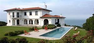 villa basque luxe piscine et tennis locations villas de With location villa pays basque avec piscine
