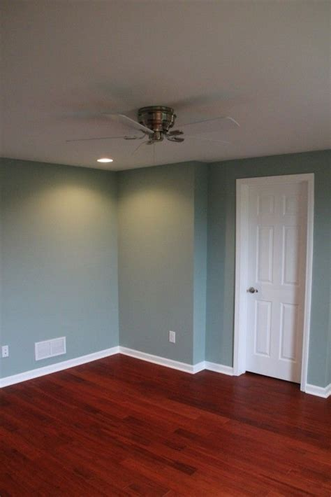 smokey slate walls by behr a complete basement remodel in