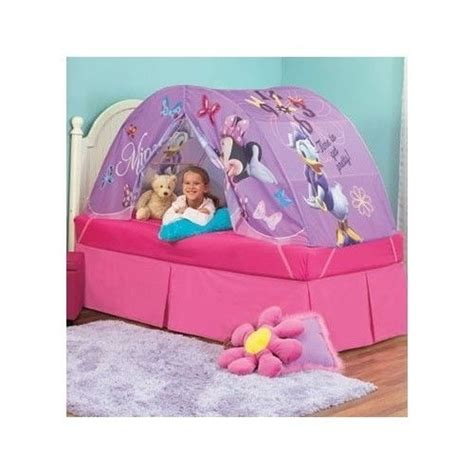 Minnie Mouse Canopy Toddler Bed by Bed Tent Disney Minnie Mouse Fort Play