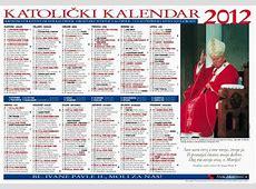 Frankfurt Hrvatski katolički kalendar za 2012 IKA