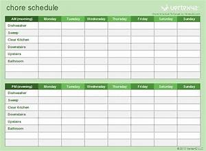 use this template to customize and print a kids39 chore With house chore schedule template