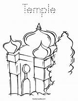 Temple Coloring Mosque Pages Judaism Synagogue Mitzvah Bar Twistynoodle Built California Usa Noodle Login Favorites Outline Tracing 95kb 886px sketch template
