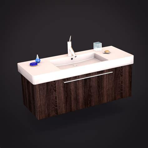 Duravit Vero Pedestal Sink by Duravit Vero Sink 3d Models Cgtrader