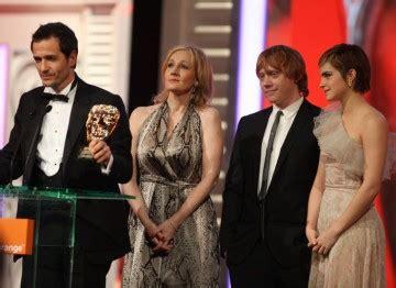 Outstanding Contribution Harry Potter Bafta